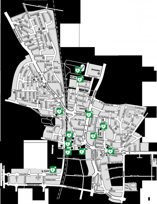 DEFI-Standorte