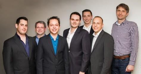 Von links: Alexander Beschowetz, Thomas Artmann, Christian Albrecht, Christoph Simon, André von Livonius, Axel Frank, Christian Martin
