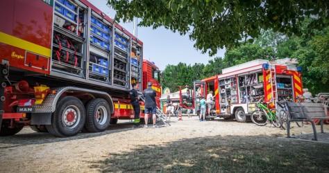 Fahrzeugausstellung am Bürgerfest