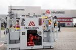 Abholung der neuen Drehleiter im Magirus-Werk Ulm.