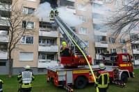Zweite Drehleiter der Feuerwehr Unterhaching (Bj. 1995)