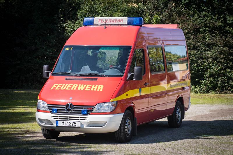 Florian Unterhaching 14/1 - Mercedes Benz Sprinter 316 CDI - Baujahr 2002
