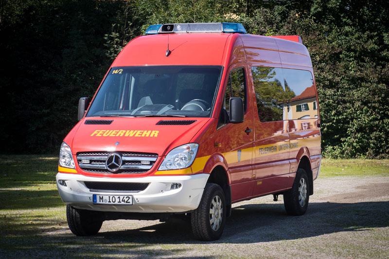 Florian Unterhaching 14/2 - Mercedes Benz Sprinter 315 CDI 4×4 - Baujahr 2010