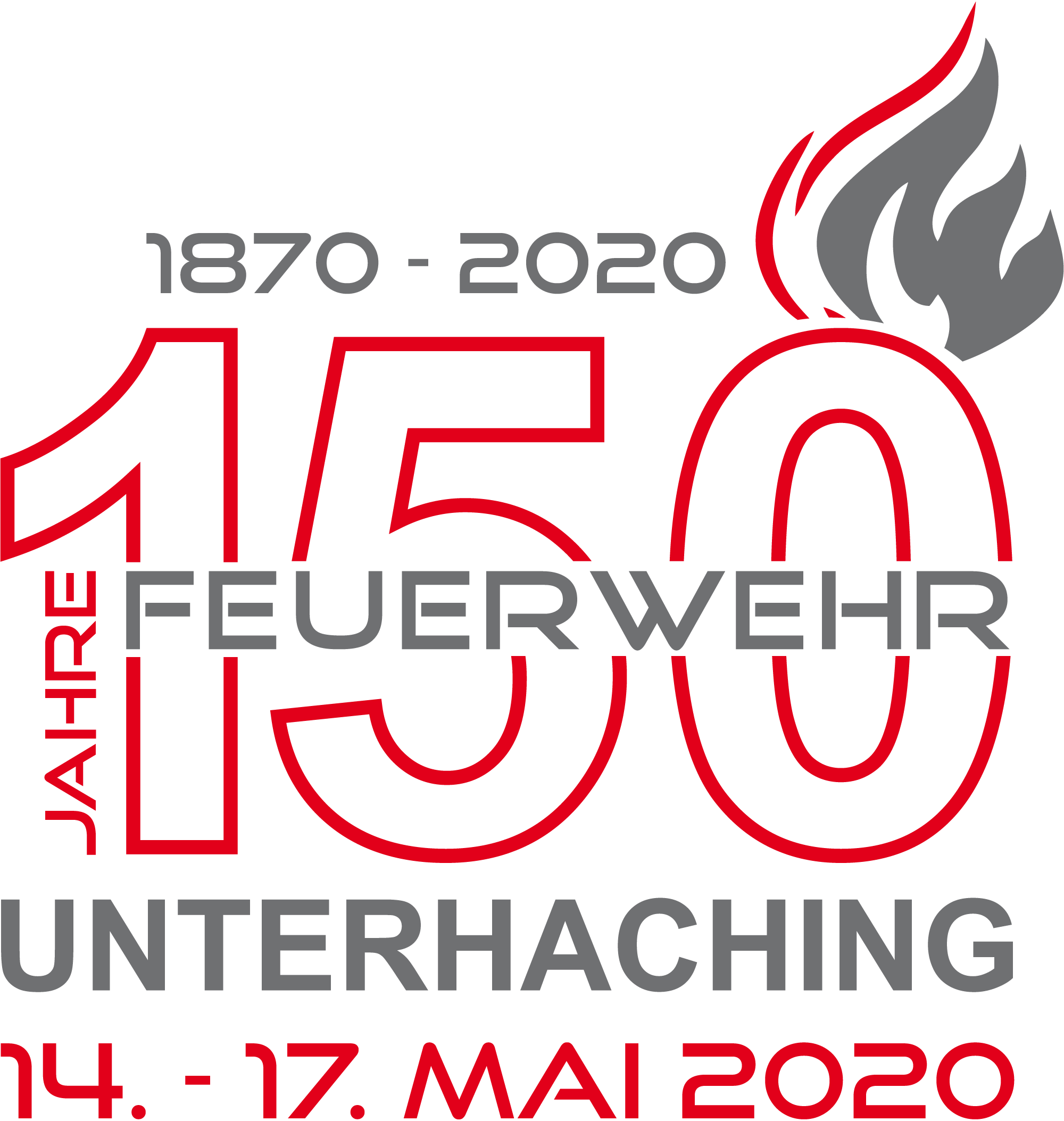150 Jahre Freiwillige Feuerwehr Unterhaching - 14. - 17. Mai 2020
